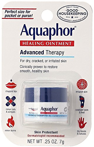 Aquaphor Healing Ointment Advanced Therapy Skin Protectant 0.25 oz (Pack of 3)