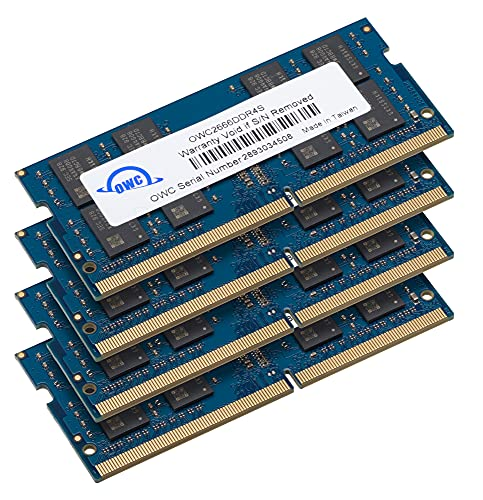OWC 32 GB (4 x 8 GB) 2666MHz PC4-21300 DDR4 SO-DIMM 260 Pin di aggiornamento di Memoria,...