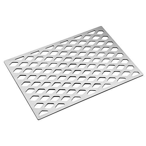 Stanbroil Cast Stainless Steel Diamond Pattern Replacement Cooking Grate for Weber 7599, Fits Genesis II 300, Genesis II LX 300 Series Models.