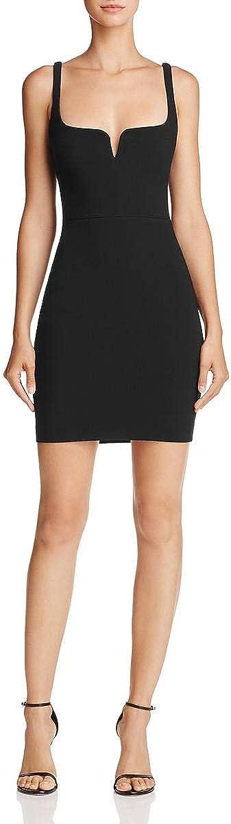 LIKELY Womens Constance Sleeveless Mini Bodycon Dress