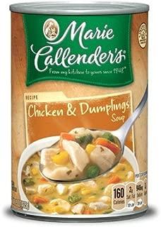 Marie Callender's Chicken & Dumplings Soup 15 Oz. Can (Pack of 4)