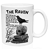 Raven Edgar Allan Poe 11oz Ceramic Coffee Mug
