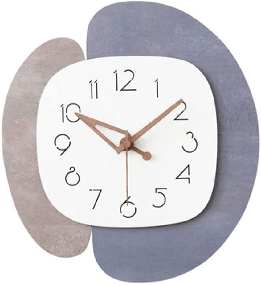 XIAOQIU 4 years warranty Wall Clock Wooden Decorative Simplicit Factory outlet Modern