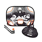 Warrior Sports Mini Pop Up Hockey Net and Sticks Kit Nc NS