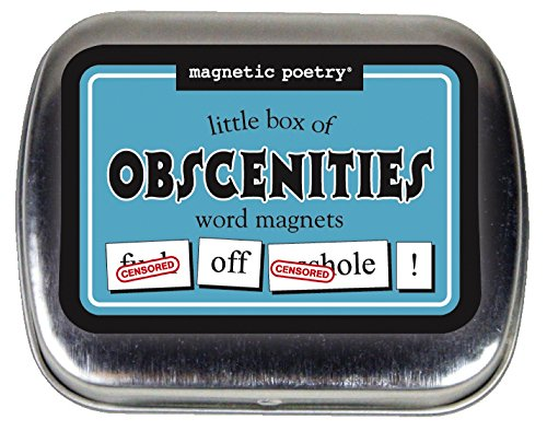 Little Box of Obscenities Refrigerator Magnet Kit