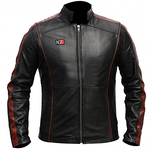 Martech Apparel N7 Mass Effect 3 Jacke Gr. XL, Schwarz