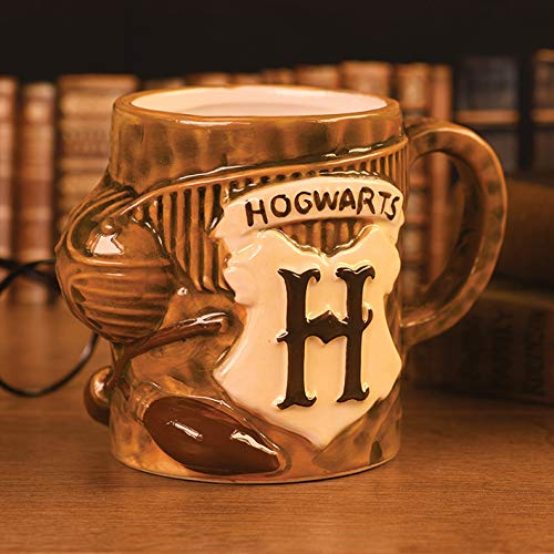 Harry Potter SCMG25063 Kaffeebecher, 568 ml, Keramik, 3D-Quidditch, 568 ml