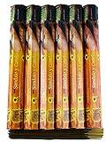 Incienso canela y Sándalo de Bangalore India Caja de 6 x 20 palos = 120 palos