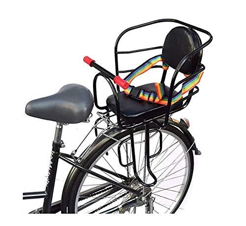 Kinderzitjes Voor Bike Achterbevestiging, Fiets Achterzijde Baby Veiligheidszitjes Met Zetel Riem En Pedaal YSJ