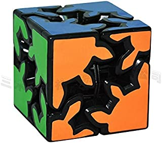 LZLRUN 3D Rubiks Gear Cube, 2X2 3X3 Match-specific Rubiks Cube Stickerless Twisty Puzzle