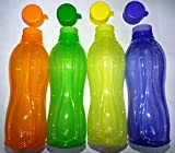 Tupperware Eco Aquasafe - Botella de agua (4 unidades)