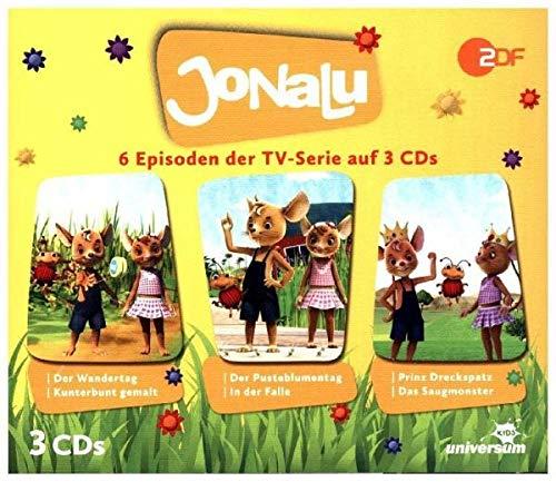 Jonalu Hörspielbox 1 (CD 1-3)