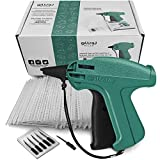 GILLRAJ MILAN【5000pcs】Clothes Tagging Gun with 5000 2' Standard Barbs and 6 Needles Clothing Retail Price Tag Gun Kit for Boutique Store Warehouse Consignment Garage Yard Sale (2')