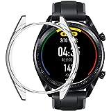 Huawei Watch GT2 42mm 保護殼 Watch GT 2 42mm 手表保護殼 【Jinmdz】透明 TPU 柔軟 超輕 耐沖擊 全防刮 Huawei Watch GT2 42mm 保護套 (42mm/透明)