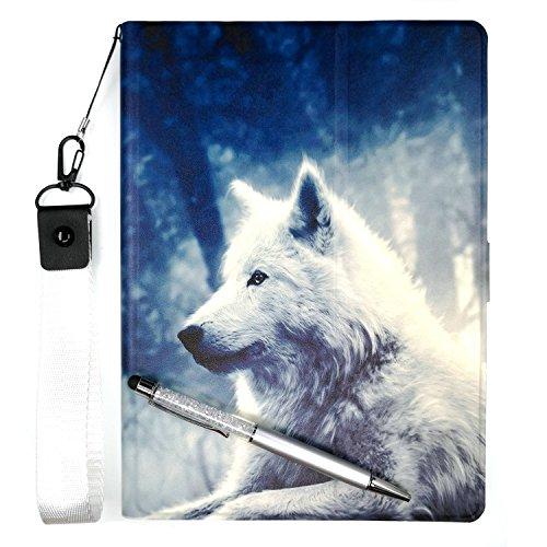 Lovewlb Tablet Funda para Sunstech Tab900 9' Funda Soporte Cuero Case Cover Lang