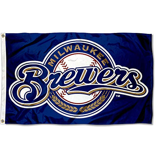 milwaukee brewers WinCraft Milwaukee Brewers Flag 3x5 Banner