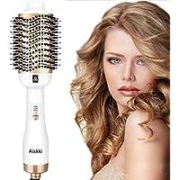 Aiskki Upgrade One Step - Secador de pelo 5 en 1 multifunción, cepillo de aire caliente, secador de pelo y voluminizador, alisador de pelo, para todos los tipos de cabello