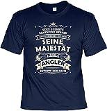 Angler T-Shirt lustiger Angel Zubehör für den Hobby Angler - der Angler - Papa Geschenk Geburtstagsgeschenk Geschenkidee Weihnachten Freizeit Gr: L
