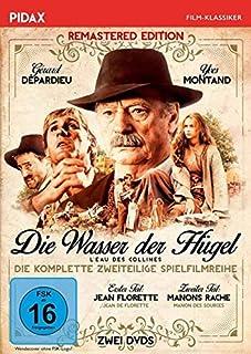 Die Wasser der Hügel (Jean Florette + Manons Rache) Remastered / Zweiteiliges Epos mit Yves Montand und Gérard Depardieu (Pidax