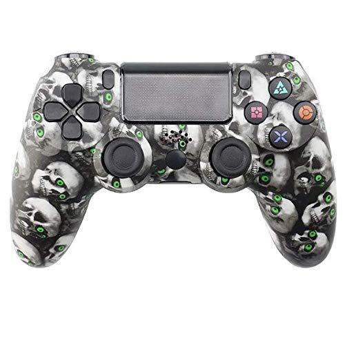 HUDB Wireless Controller Für PS4, Wireless Controller Für PS4/PS4 Slim/PS4 Pro, Doppelter Vibration, Audiofunktion Anti-Rutsch Griff Und Bluetooth Gamepad,S7
