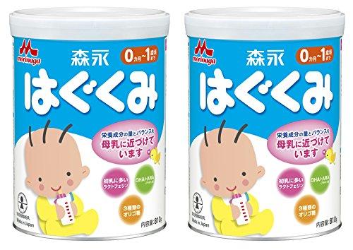 【Amazon.co.jp限定】 森永 はぐくみ 大缶 810g×2缶パック