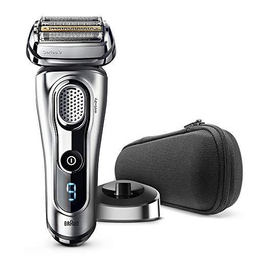 ブラウン メンズ電気シェーバー シリーズ9 9260s-P 5カットシステム 密着3Dヘッド 人工知能 自動調整 水洗い お風呂剃り可 シルバー