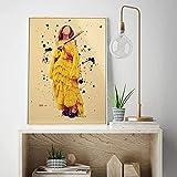 WYNH Vintage Beyonce Poster Print Abstrakte Home Figur