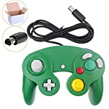 GameCube Controller,Wired Gamepad for Nintendo Wii Console(Green)