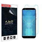 JD Compatible para 8 Paquetes Xiaomi Black Shark Protector de Pantalla, [NO Cobertura Completa] Prima Escudo de Película Transparente HD Protector de Pantalla para Xiaomi Black Shark
