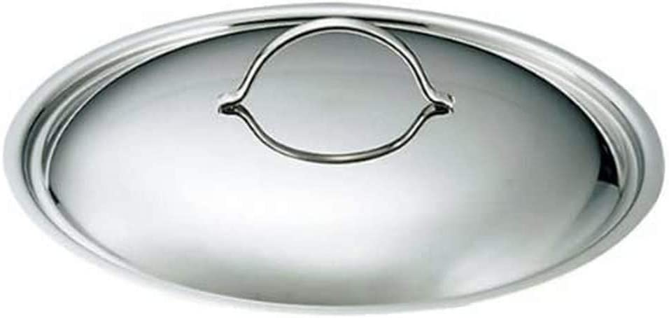 de Buyer Super sale Professional 36 cm Stainless for with Steel Knob Import Ap Lid