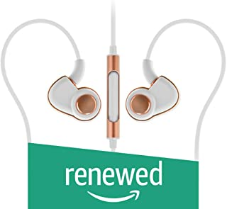 (Renewed) SoundMagic PL30PC in-Ear Earphones (White and Gold)