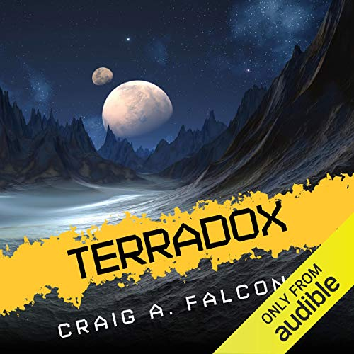 Terradox audiobook cover art