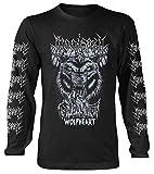 Moonspell 'Wolfheart' (Black) Long Sleeve Shirt (x-Large)