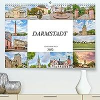 Darmstadt Stadtansichten (Premium, hochwertiger DIN A2 Wandkalender 2022, Kunstdruck in Hochglanz): Es erwarten Sie einmalig wunderschoene Aufnahmen von Darmstadt (Monatskalender, 14 Seiten )