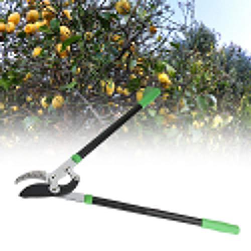 Oumefar Tijeras de podar de Acero y plástico SK5, Tijeras de podar de 750 mm para podar árboles, setos, Rama, Herramienta de jardinería