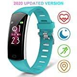 BingoFit Slim Fitness Tracker,Activity Tracker IP67 Waterproof Smart Fitness Watch Fit Wristband...