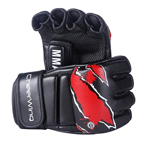 Cheerwing MMA Boxing Gloves UFC Kickboxing Gloves