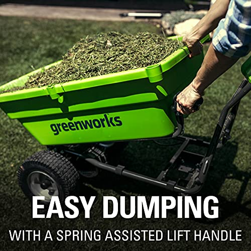 Greenworks Tools 7400007 Cordless Garden Cart Conclusion