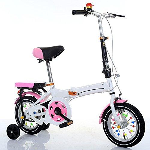 ZCRFY Niños Plegables Bicicleta De La Bici 7-15 Años De Edad Y...