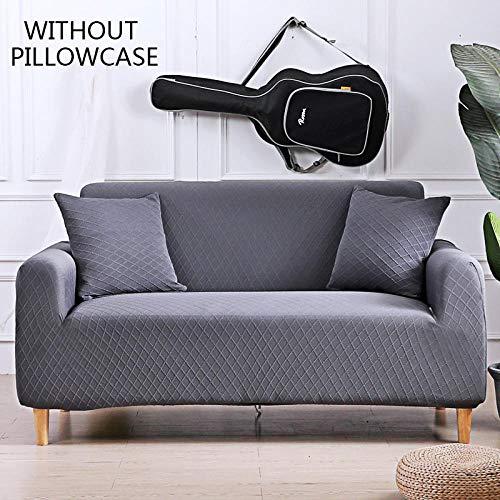 Cubierta Para Sofá Con Cuerda De Fijación,Fundas De Sofá De Esquina De Color Sólido Para Sala De Estar Fundas De Sofá De Tela Escocesa Elástica Universal 3D Funda De Sofá Elástica 1 2 3 4 Plazas 1Pc-D
