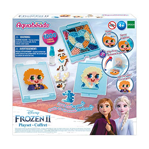 Aquabeads Disney Frozen 2 Playset, Kids Crafts, Beads, Arts and Crafts, Complete Activity Kit, Multi
