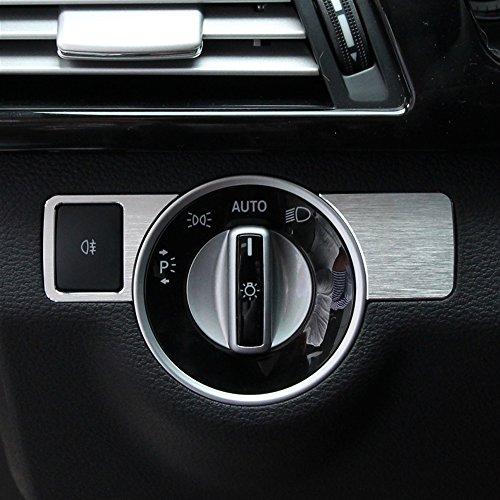 TOPDECO Car Automobile Center Head Light Switch Button Cover Trim