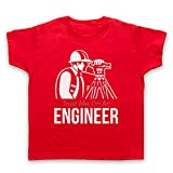 My Icon Art & Clothing Vertrau Mir Ich Bin Ingenieur Kinder T-Shirt, Rot, 2-3 Jahren