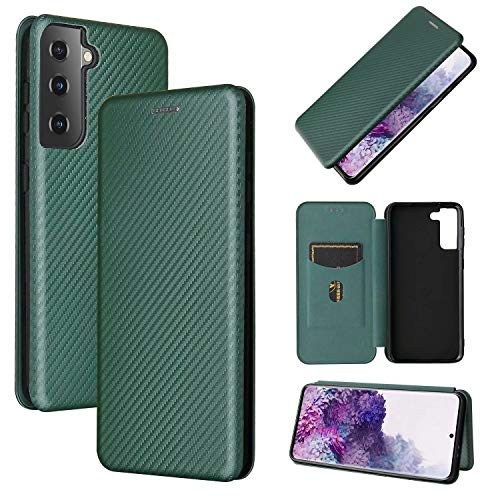 SOUFU for UMIDIGI S5 Pro Case,Magnetic tpu+pu leather case with shock and drop resistance,for UMIDIGI S5 Pro-green