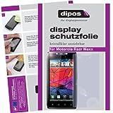 dipos I 2X Schutzfolie klar kompatibel mit Motorola RAZR MAXX Folie Bildschirmschutzfolie