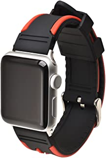 Band for Apple Watch Series 3/2/1,Silicone Adjustable Replacement Band Sport Strap for Iwatch 38mm 42mm
