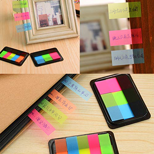 Colorful Paper Sticker New Sticky Notes Bookmark Point It Marker Memo Flags Sticky Notes Index Pad Tab Label Sticky Notes