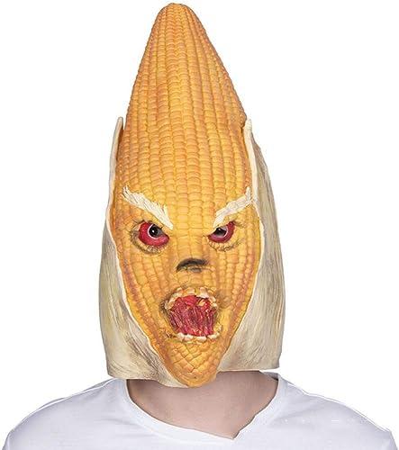 calidad de primera clase XINXI Home Cabeza de látex de de de Halloween Monstruo del maíz Cara Completa máscara de Horror Disfraz Bola Diverdeido Atrezzo  tiendas minoristas