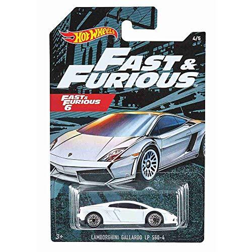 Hot Wheels GDG44 - Auswahl: Fast & Furious 7 (2020) - Fahrzeuge, Autos (Lamborghini Gallardo LP 560-4)