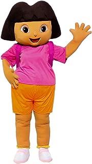 Girl Explorer Dora Mascot Costume Character Party Birthday Halloween